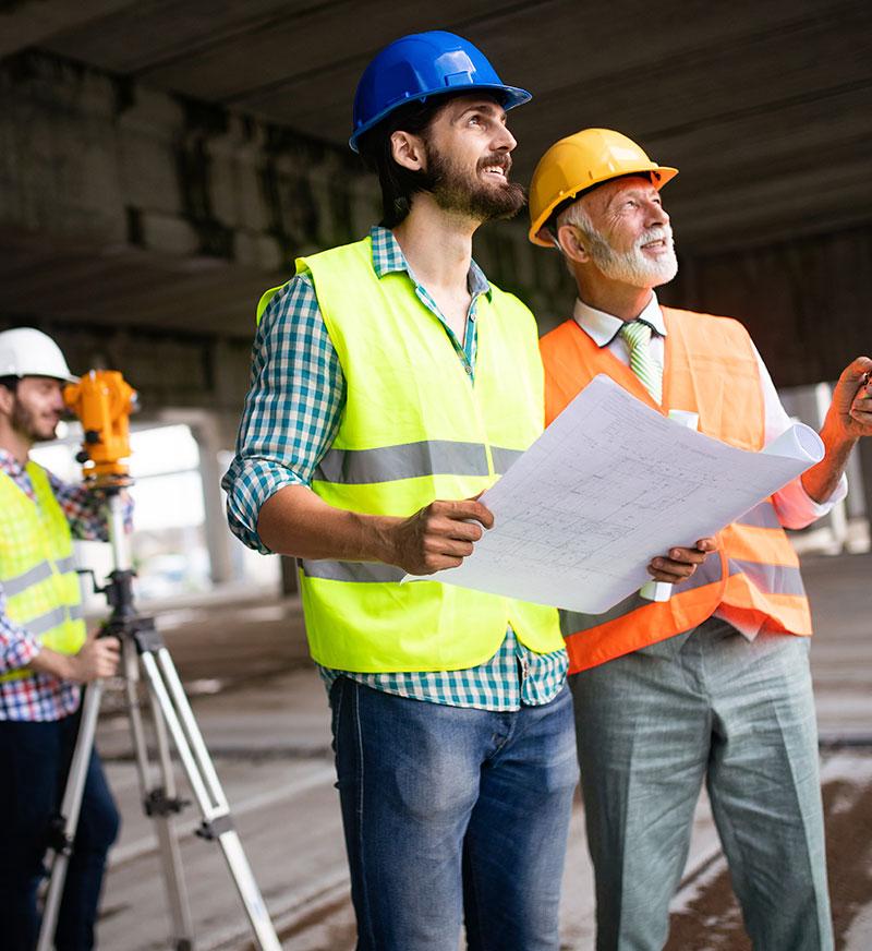 Contacta servicios de construcción - Clever Solutions