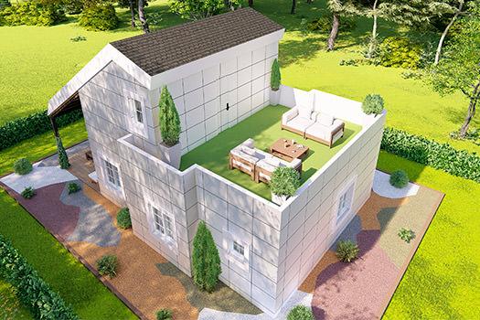 Casas pasivas prefabricadas para una máxima eficiencia energética - CLEVER SOLUTIONS